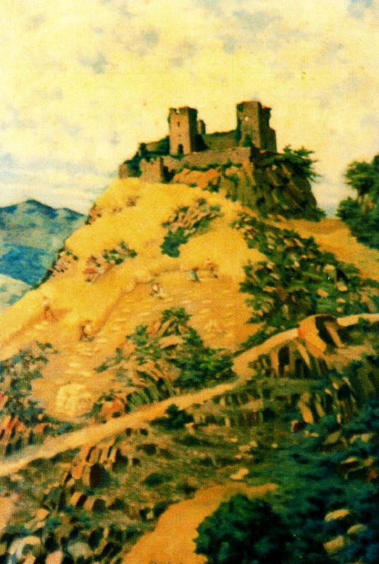 Альварес Арместо. Замок на холме