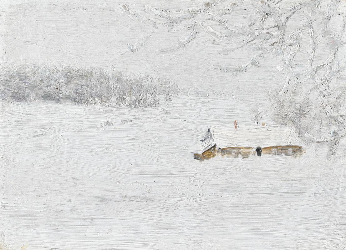 Иван Павлович Похитонов. Winter landscape. Minsk