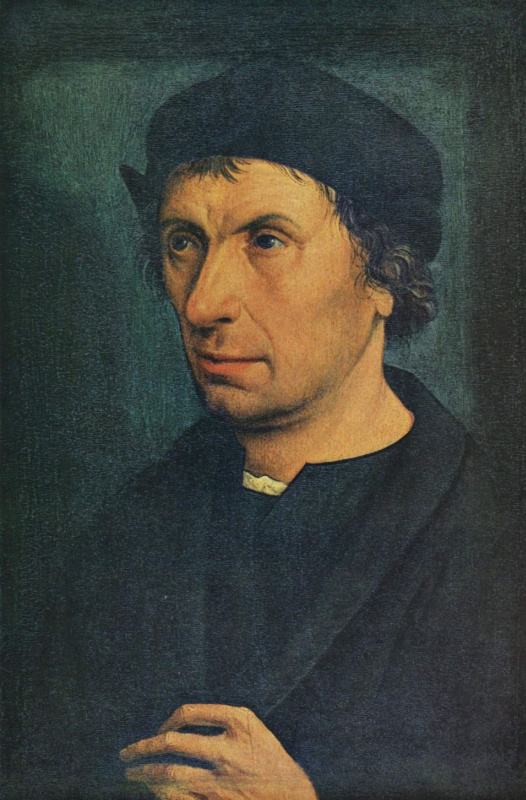 Ян Юст ван Калькар Калкар. Мужской портрет