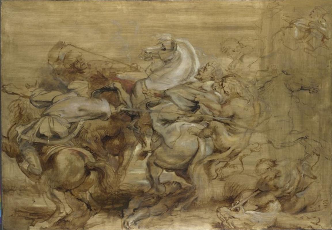 Питер Пауль Рубенс. Охота на львов