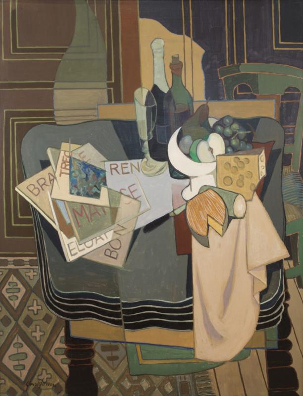 Henri Clement-Servo. Still life