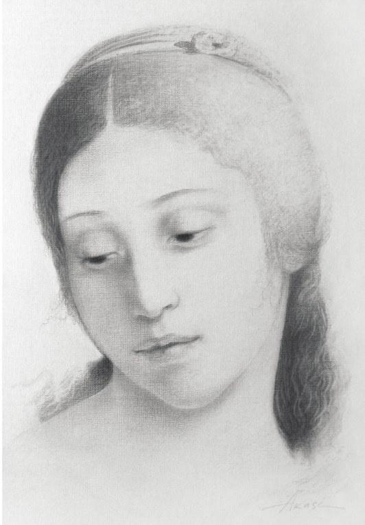 Ольга Акаси. Рафаэлевская девушка