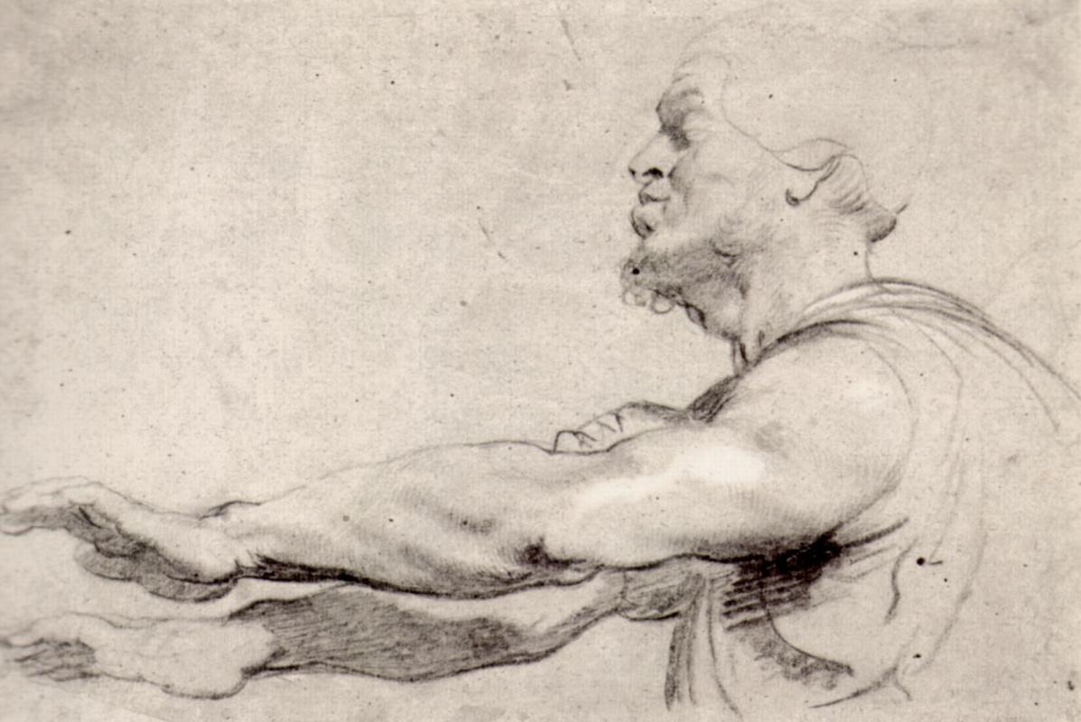 Питер Пауль Рубенс. Слепой с вытянутыми перед собой руками