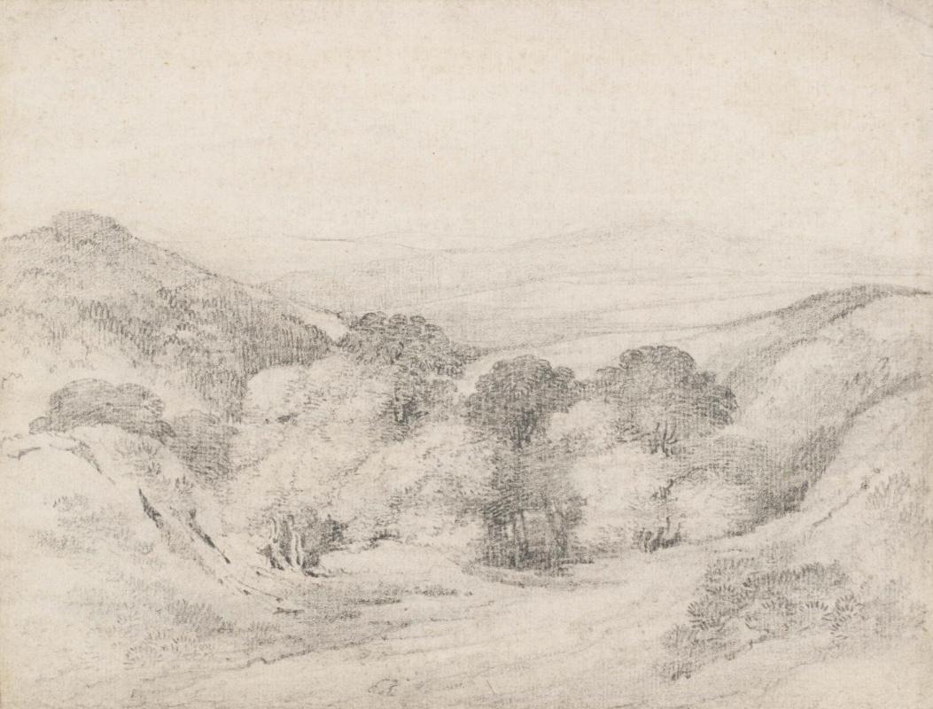 John Constable. The slopes