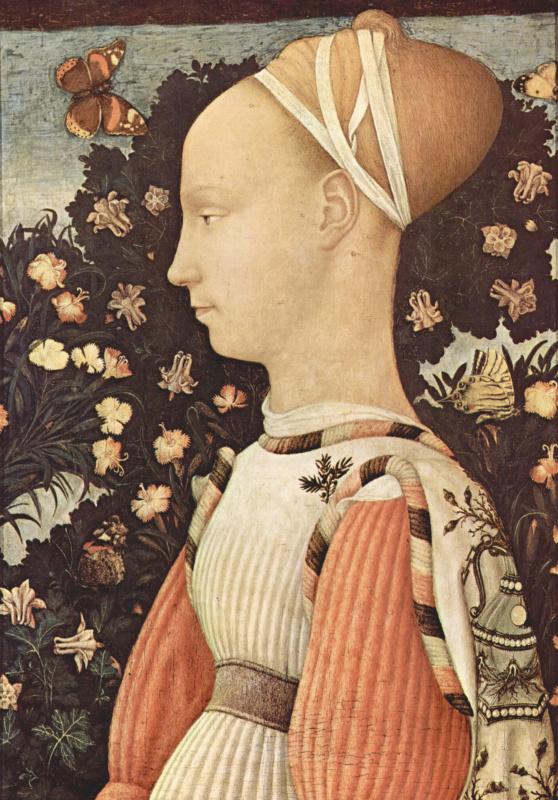 Портрет принцессы Джиневры д'Эсте