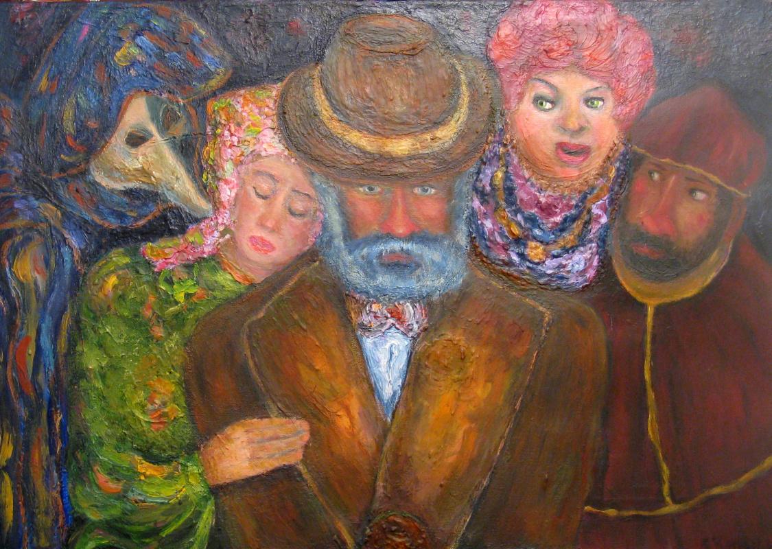 Sergey Yampolskiy. Unequal marriage