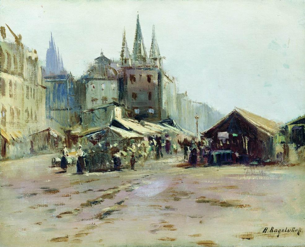 Alexey Petrovich Bogolyubov. Bazaar