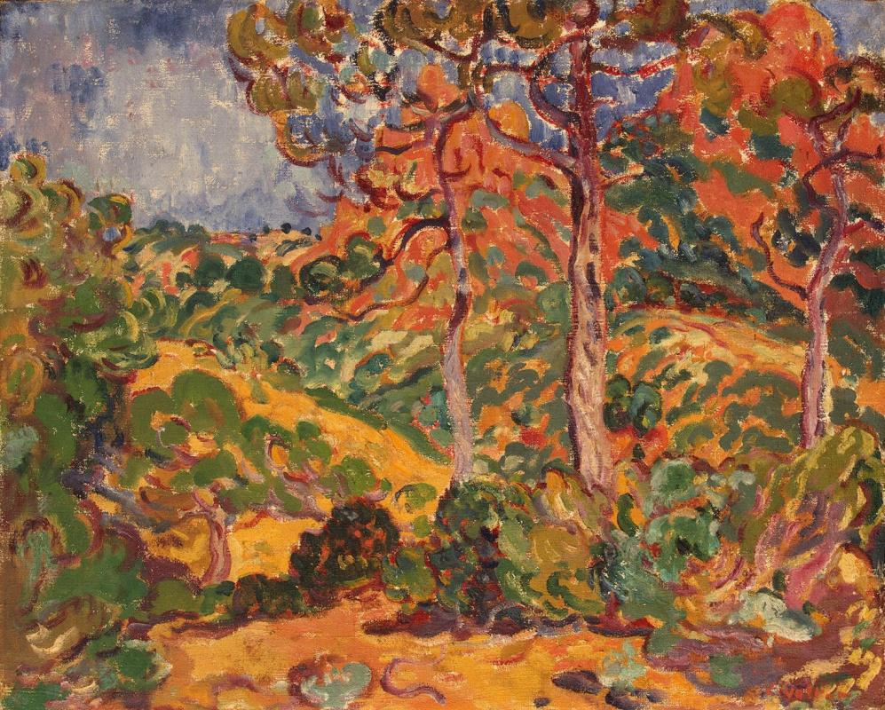 Луи Вальта. Солнце под деревьями