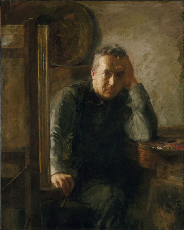 Сьюзан Макдауэлл Икинс. Портрет Томаса Икинса