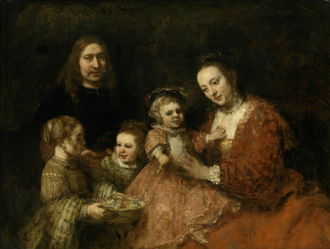 Rembrandt Harmenszoon van Rijn. Family portrait