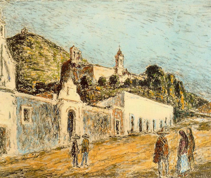 Артуро Соуто. Купол церкви