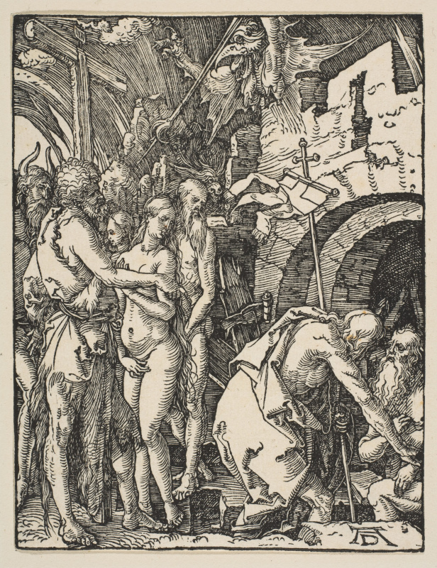 Albrecht Durer. The descent into hell