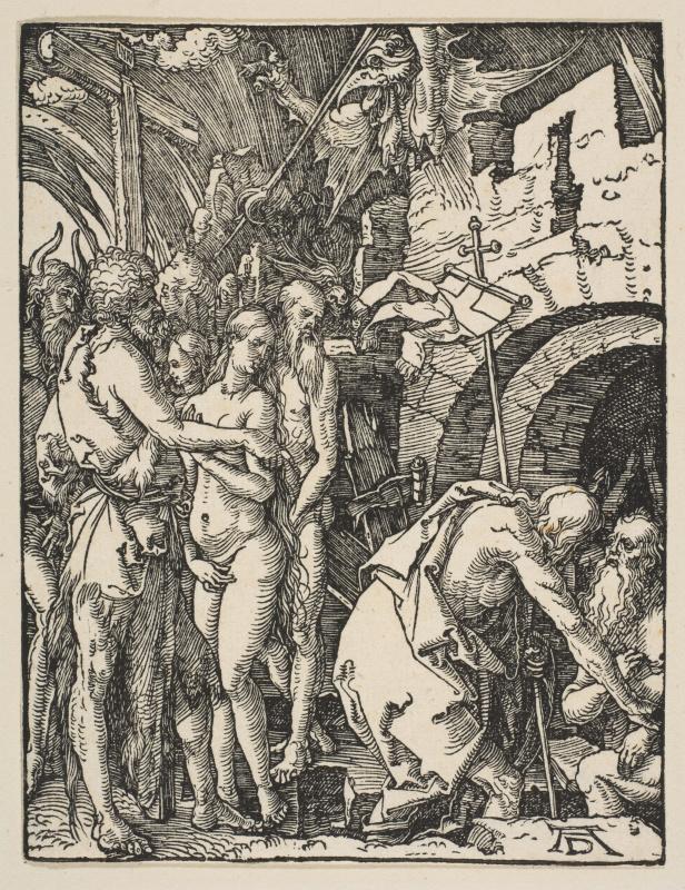 Albrecht Durer. The descent into hell