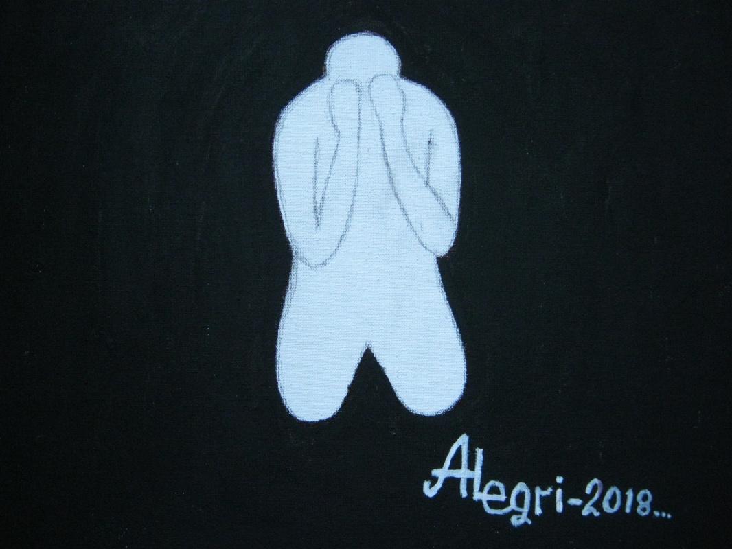 Алексей Гришанков (Alegri). Белый человек в Черном квадрате