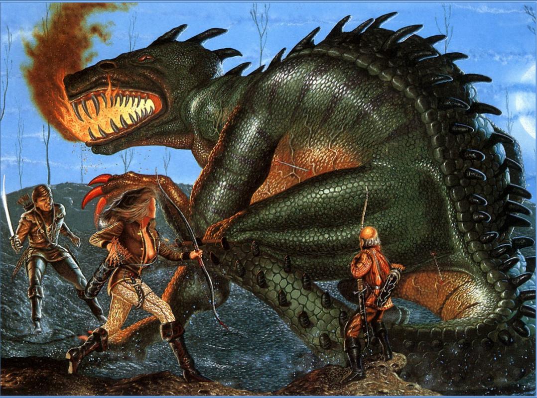 Terry Oaks. Killing the dragon