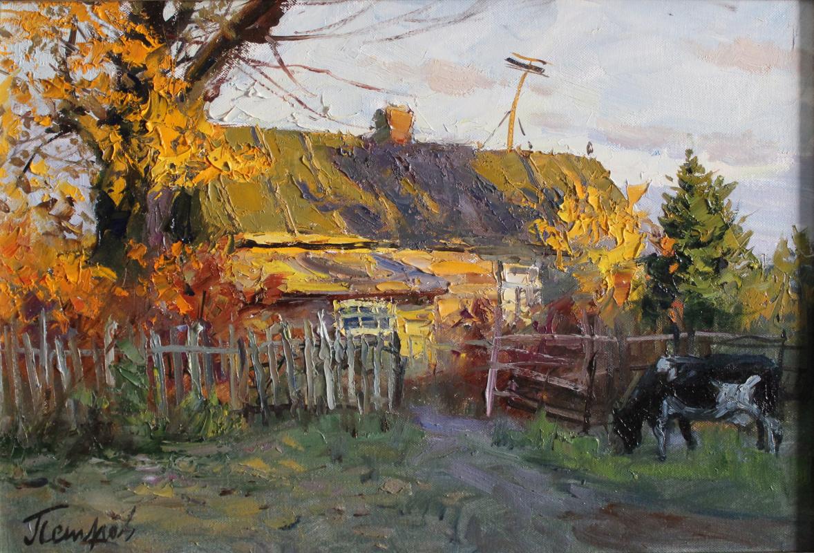 Yury Yakovlevich Petrov. Getting dark