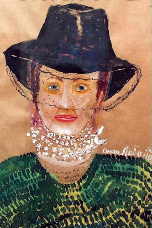 Olga Alexandrovna Lobanova. Portrait of Dyakonitsyna O.V.