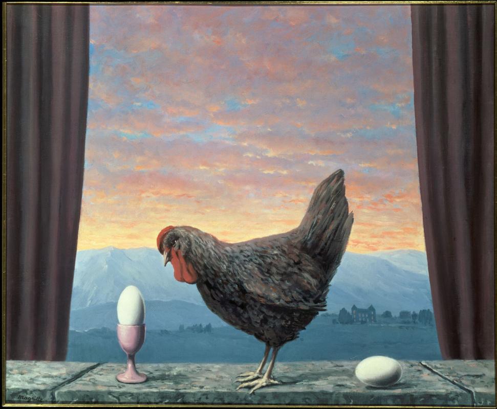 René Magritte. Variation of sadness