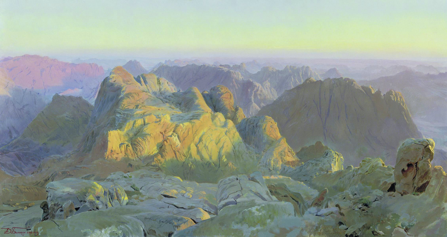 Dmitry Anatolyevich Belyukin. Dawn in Sinai