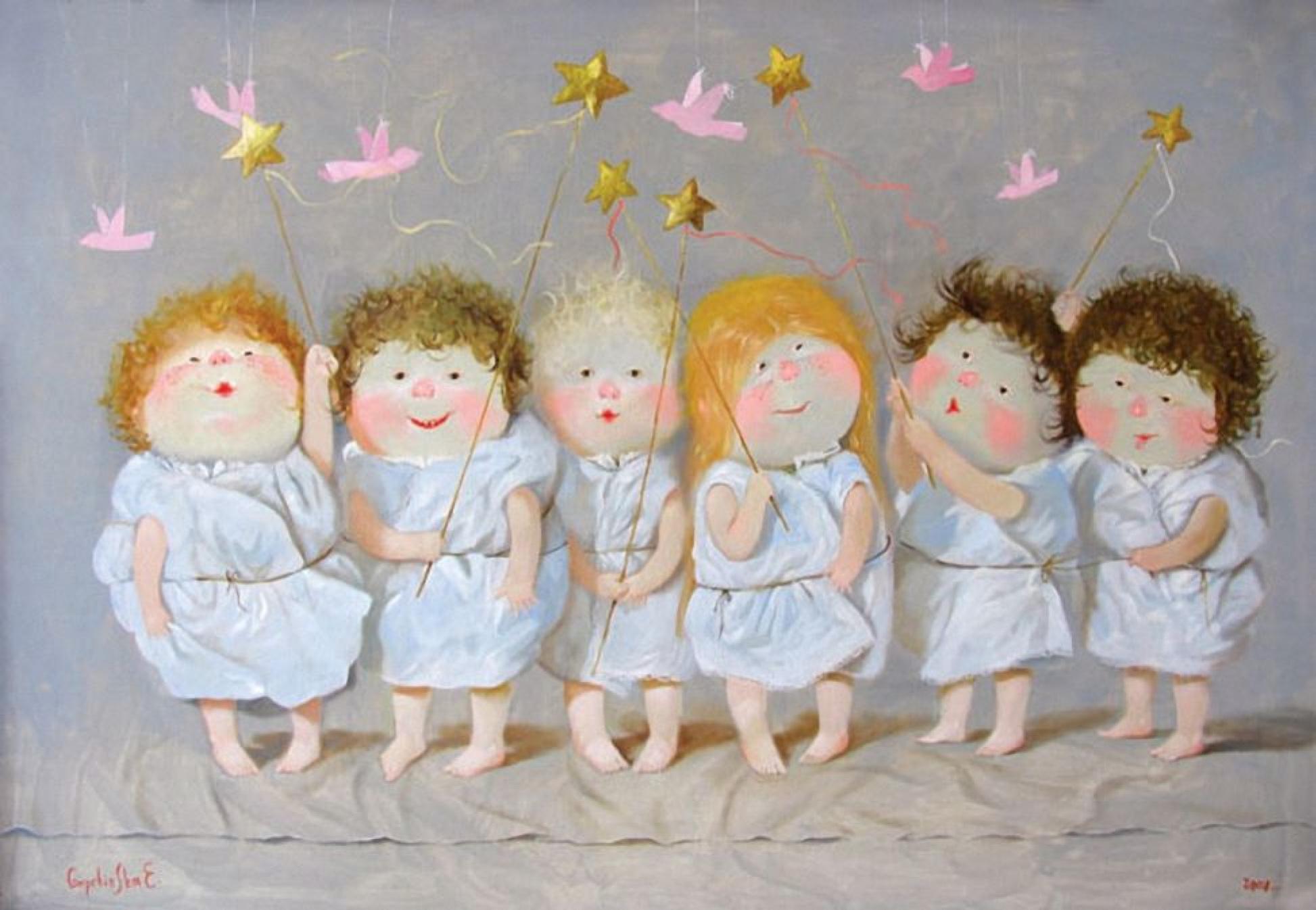 Картинки по запросу Ангелочки Гапчинской