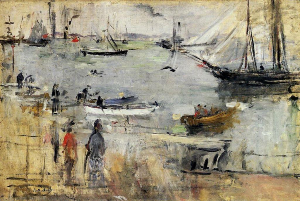 Берта Моризо. Английский морской пейзаж