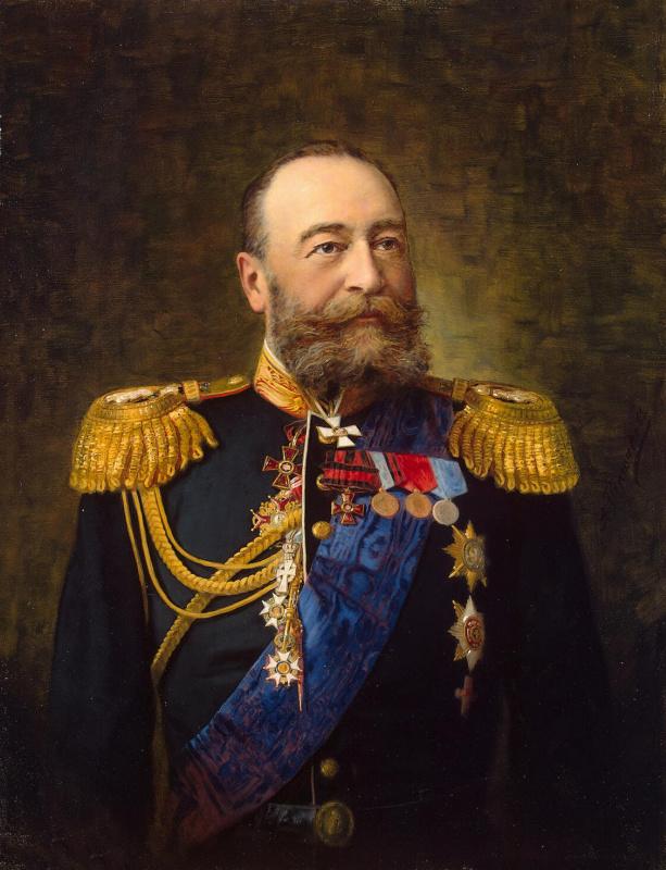 Александр Федорович Першаков. Портрет адмирала Алексеева