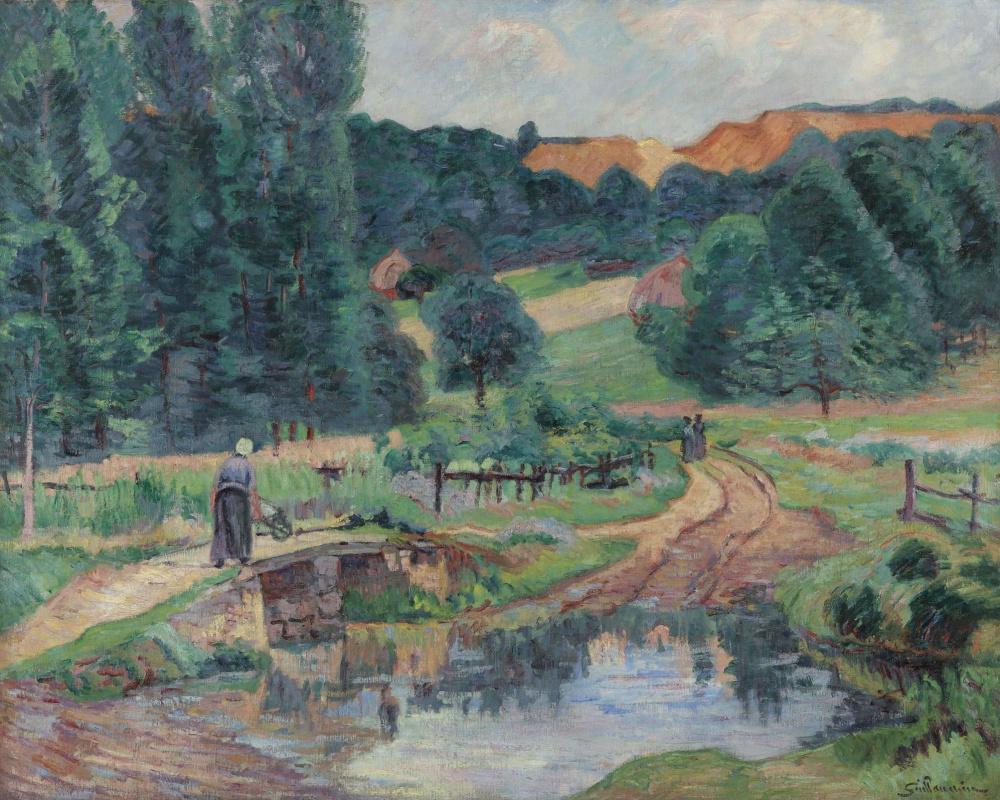 Armand Guillaumin. Landscape of Saint-cheron
