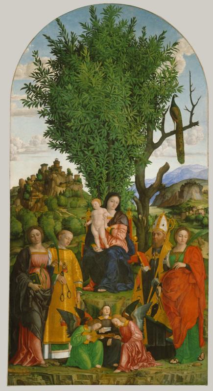 Джироламо даи Либри (Girolamo dai Libri). Мадонна и дитя