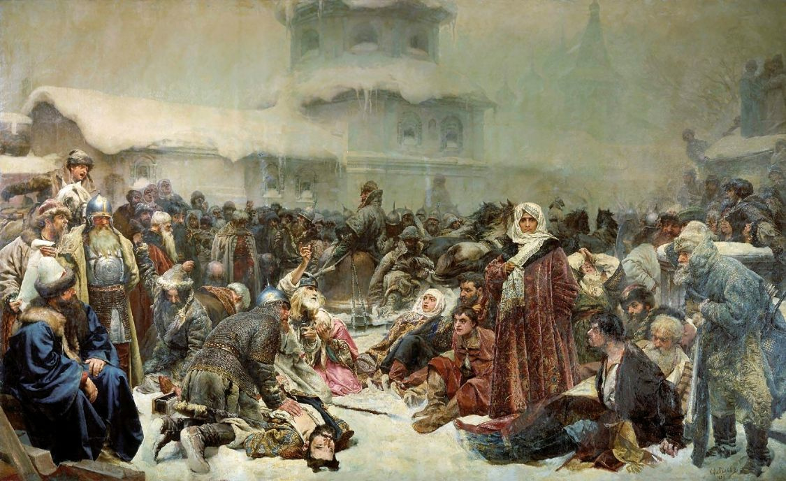 Клавдий Васильевич Лебедев. Марфа Посадница. Уничтожение новгородского веча