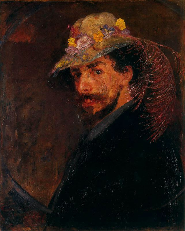 Джеймс Энсор. Шляпа