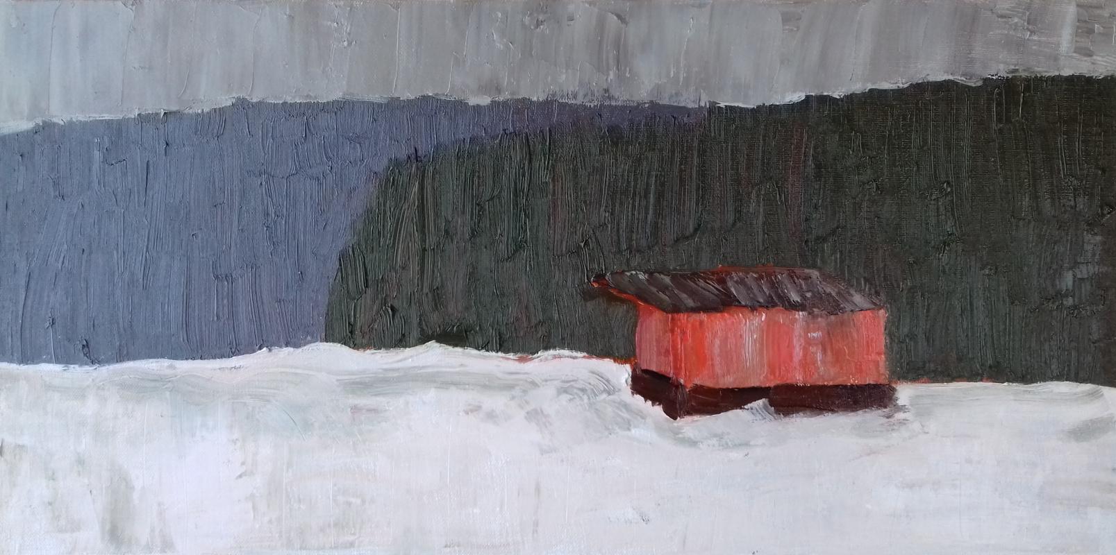 Ilida Yamaltdinova. Winter