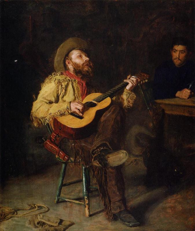 Томас Икинс. Веселый музыкант