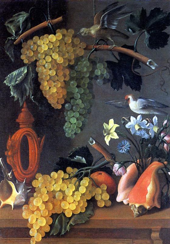 Хуан Де Эспиноса. Натюрморт с виноградом