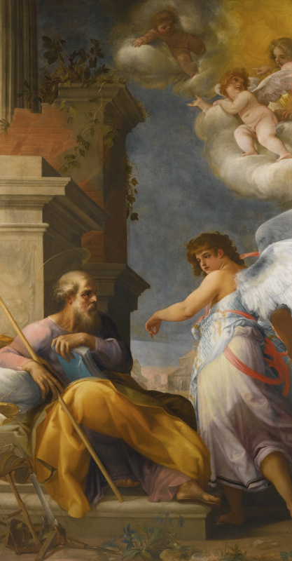 Джованни Бальоне (Баглионе). Видение святого Иосифа