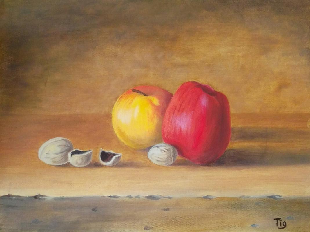Olga Nadtochaeva. Apples