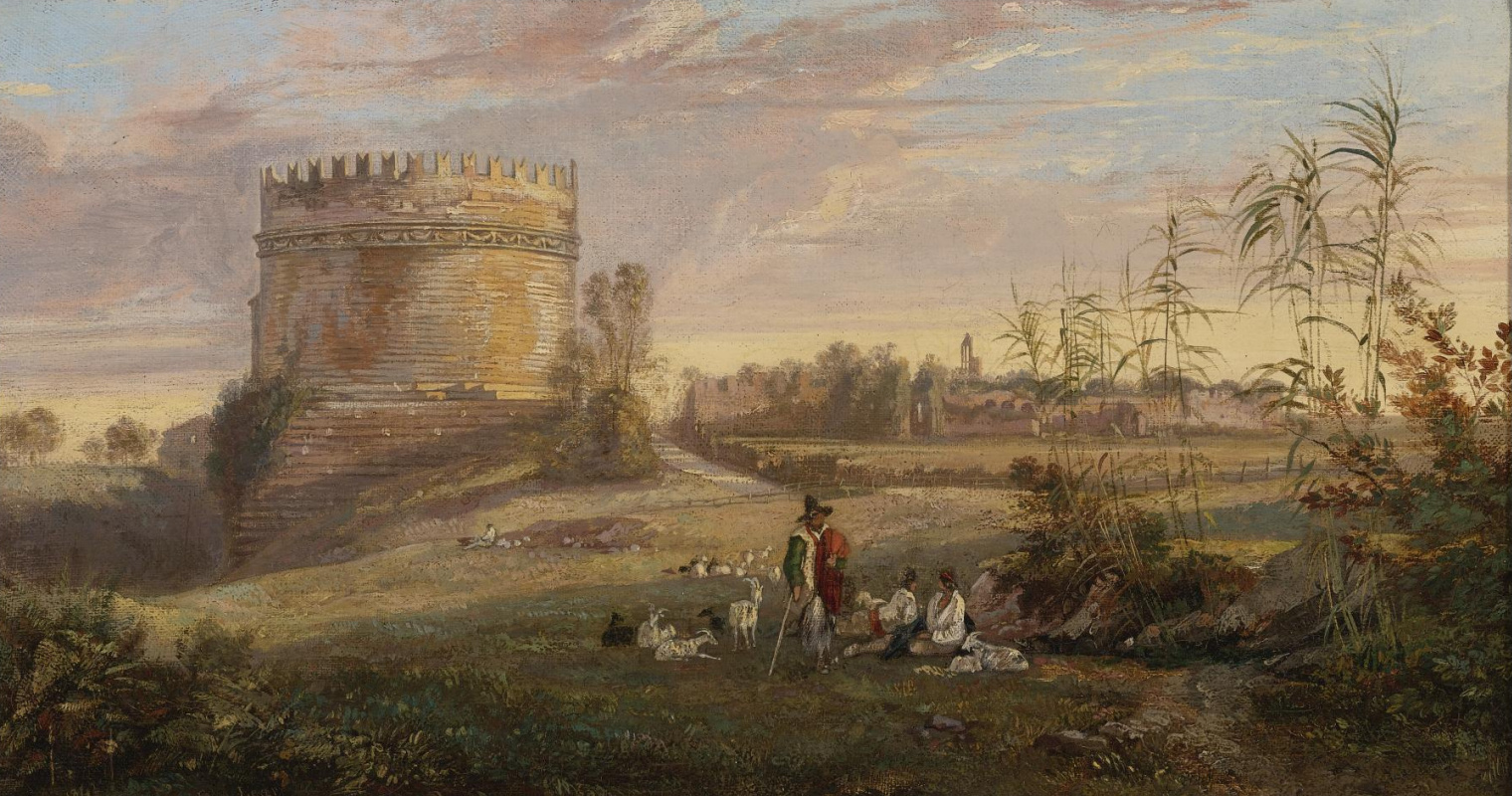Эдвард Лир. Tomb of Cecilia Mitella