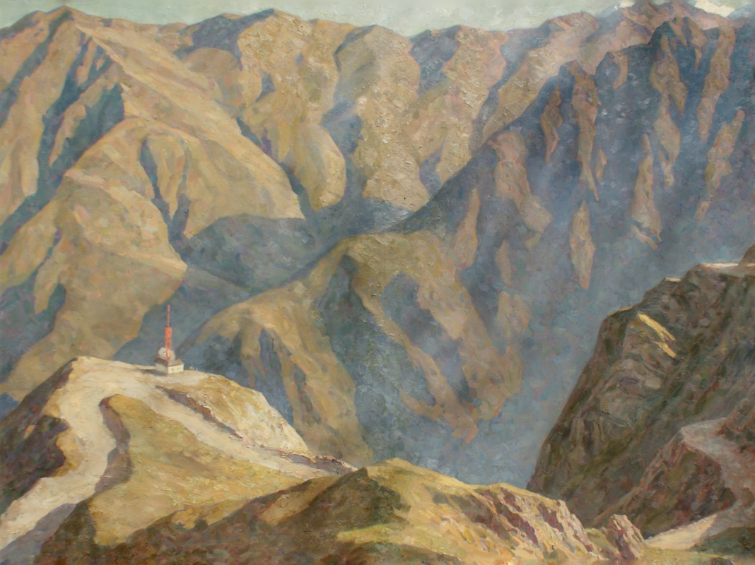 Nikolay Raibats. Mountain landscape