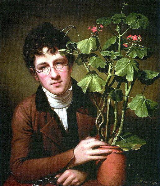 Мальчик с цветком