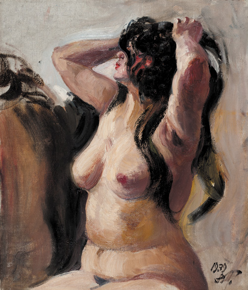 Alexander Mikhailovich Gerasimov. Portrait of a nude.