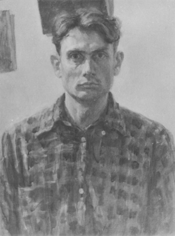 Леонид Александрович Усайтис. Автопортрет