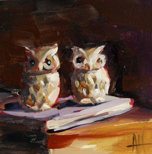 Angela Moulton. Owls-the guardians