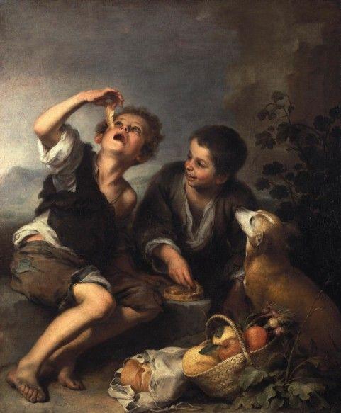 Bartolomé Esteban Murillo. Consumers of pies