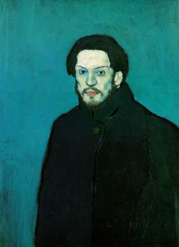 Pablo Picasso. Self-portrait