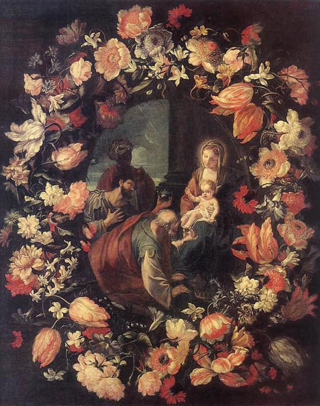 Карло Маратта. Поклонение волхвов в Гарланде