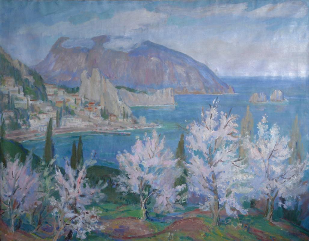 Elena Kuznetsova. Spring in Crimea