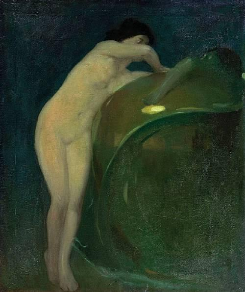 Arthur Frank Matthews. Pandora
