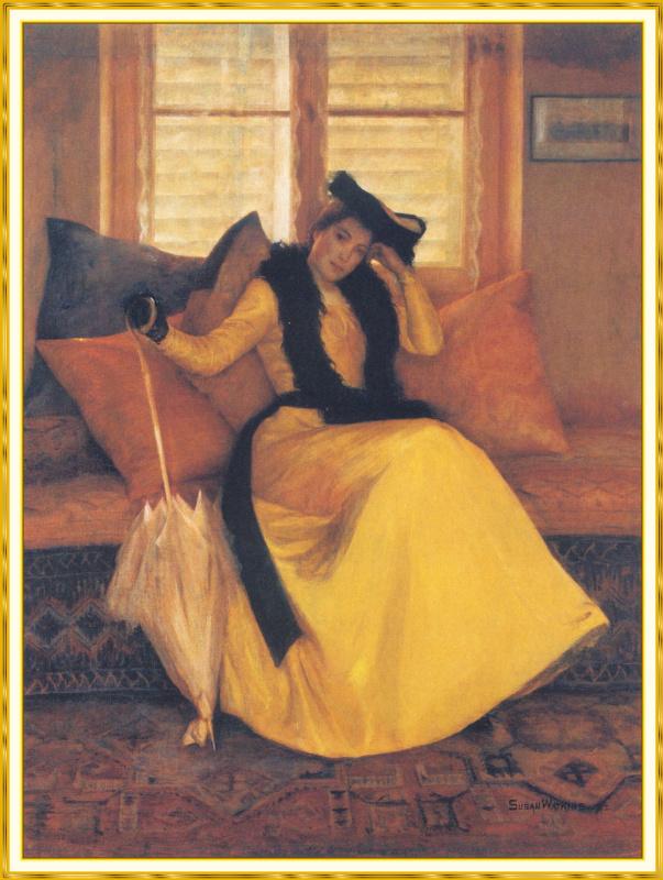 Леди в желтом