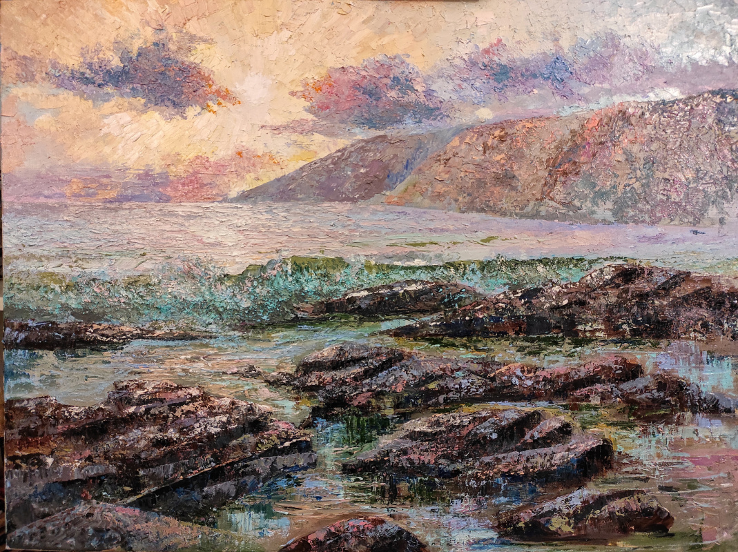 Alina Evgenievna Shvaryova. Sunset poetry