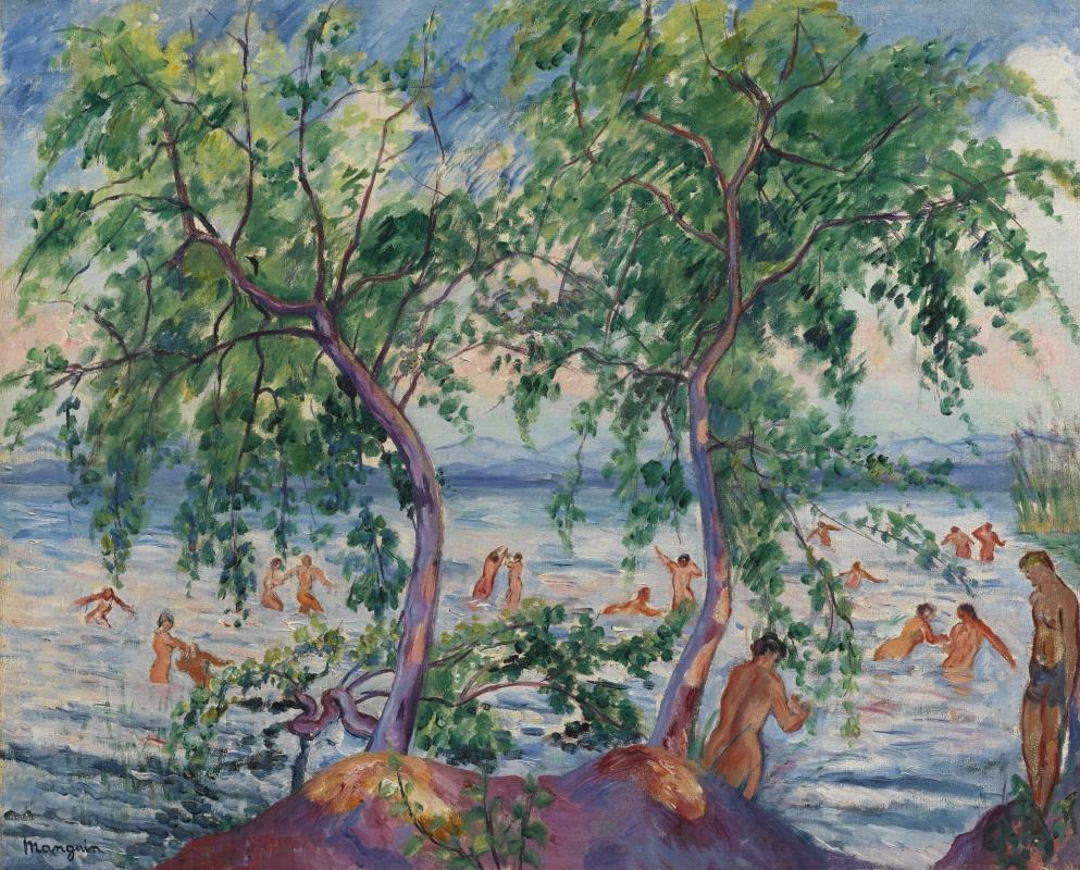 Henri Manguin. Bathers, Colombier