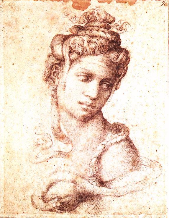 Микеланджело Буонарроти. Клеопатра